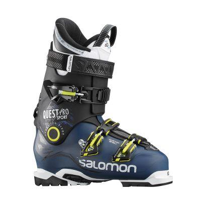 Salomon Quest Pro CS Sport skistøvler PetrolBlBkacide gr